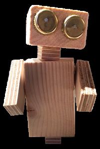 Boek een creatieve workshop robot timmeren bij Feestje bij Fem