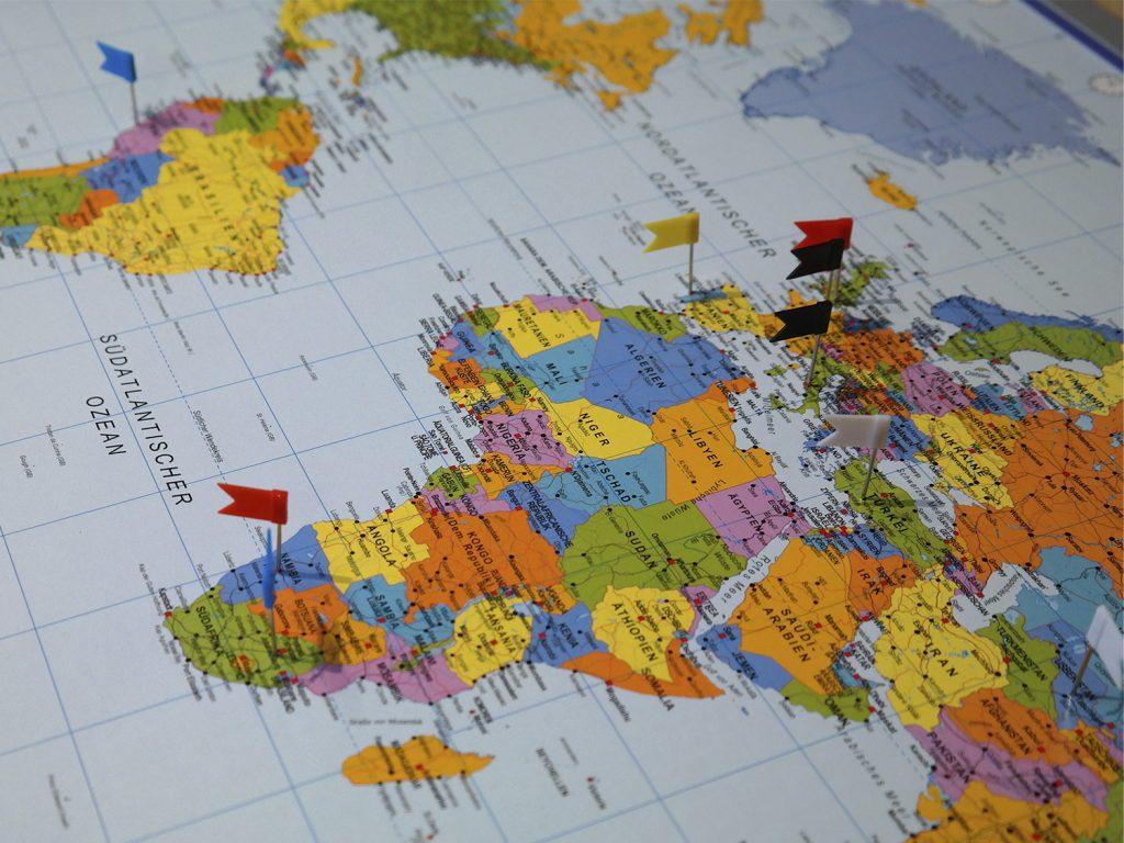 Huur een de themakist 'Reis om de wereld'