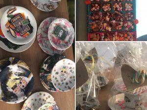 etagere en chocolaatjes maken kinderfeestje schaijk feestje bij fem