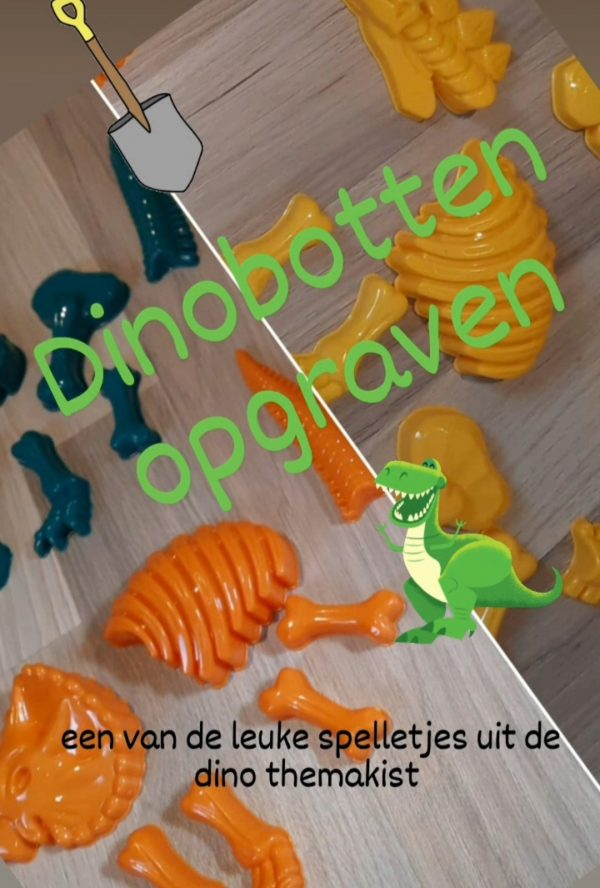 Dinofeestje themakisten kinderfeestje schaijk
