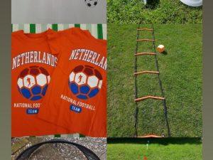 voetbalfeestje In oranje