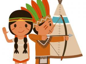 themakist kinderfeestje indianen feestje bij fem schaijk