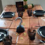 tafel versiering piratenfeestje themakisten schaijk